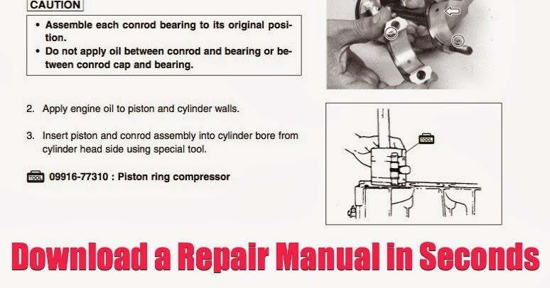 DOWNLOAD 90HP Outboard Repair Manual: DOWNLOAD 90 HP Repair Manual ...