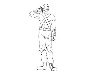 #2 G.I. Joe Coloring Page