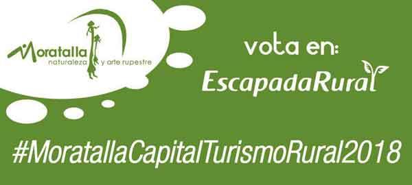 ¿Nos ayudas a hacer de Moratalla Capital del Turismo Rural de España 2018?