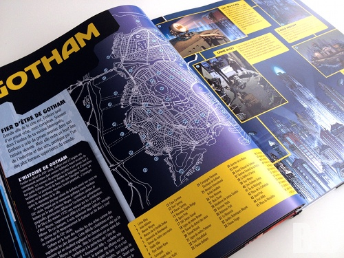 encyclopedie batman plan gotham