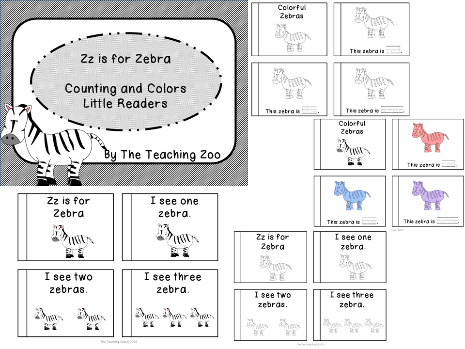 Zz is for Zebra Little Reader