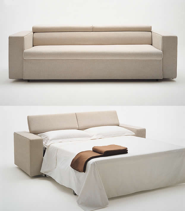 the use of sofa cum bed to enhance your living room