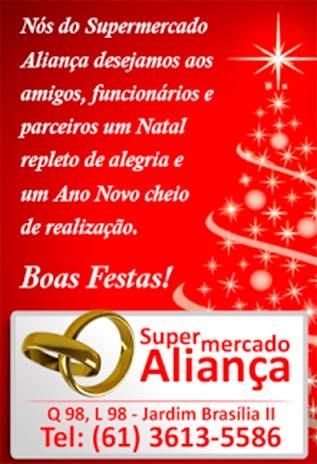 publicidade  Supermercado Aliança