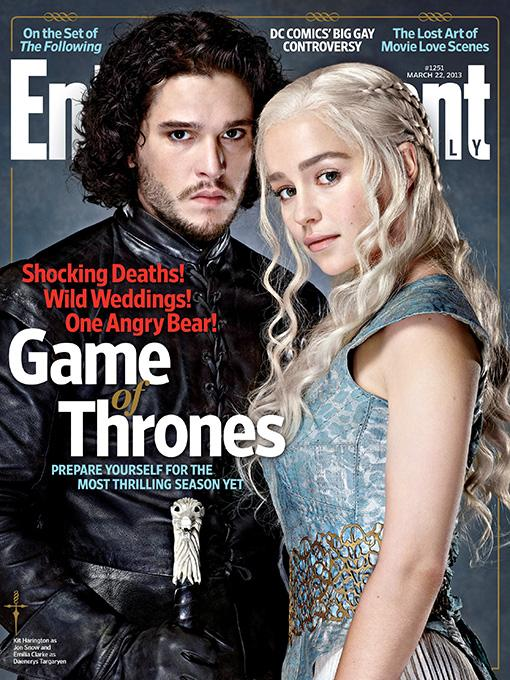 Juego de Tronos: portada de Entertainment Weekly
