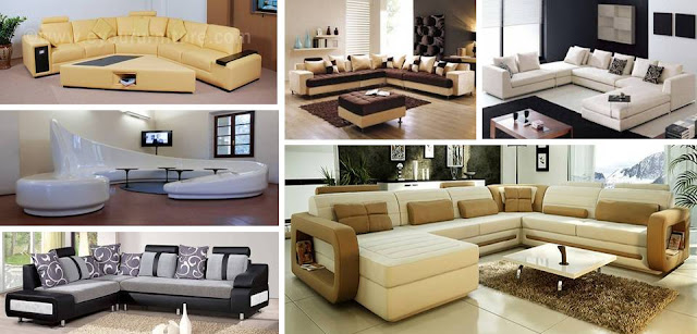 20 Sofa set designs pictures