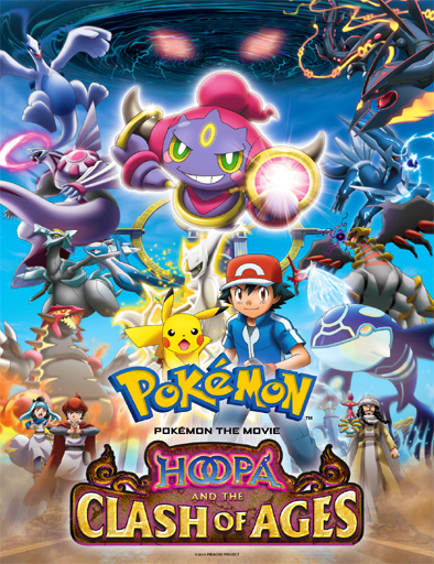 ver Pokémon the Movie 18: Hoopa and the Clash of Ages (2015) Online