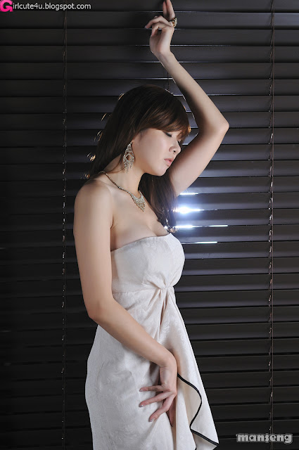 6 Jung Se On - Strapless Mini Dress-very cute asian girl-girlcute4u.blogspot.com