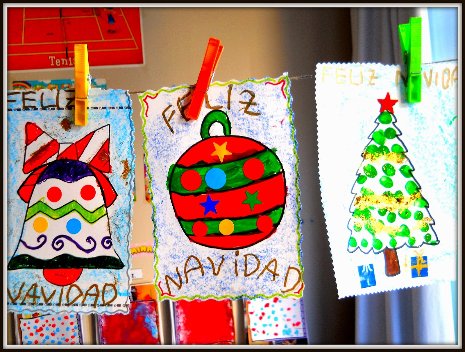Infantil en ribadesella decoraci n navide a - Decoracion navidena infantil ...