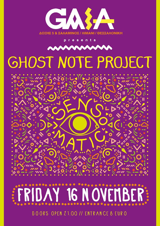 GHOST NOTE PROJECT