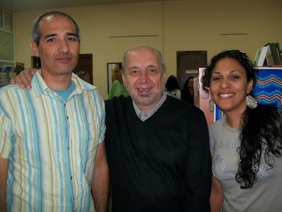 con Arturo Carrera