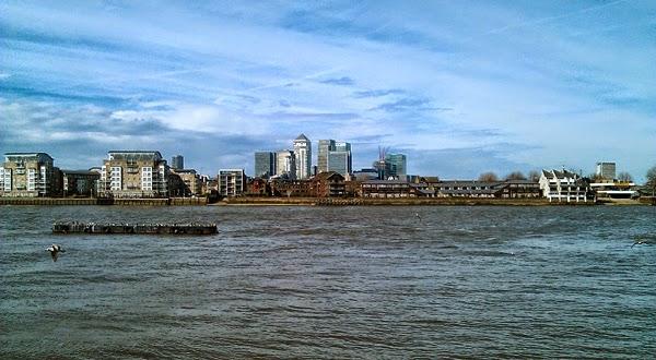 Canary Wharf Támesis Greenwich