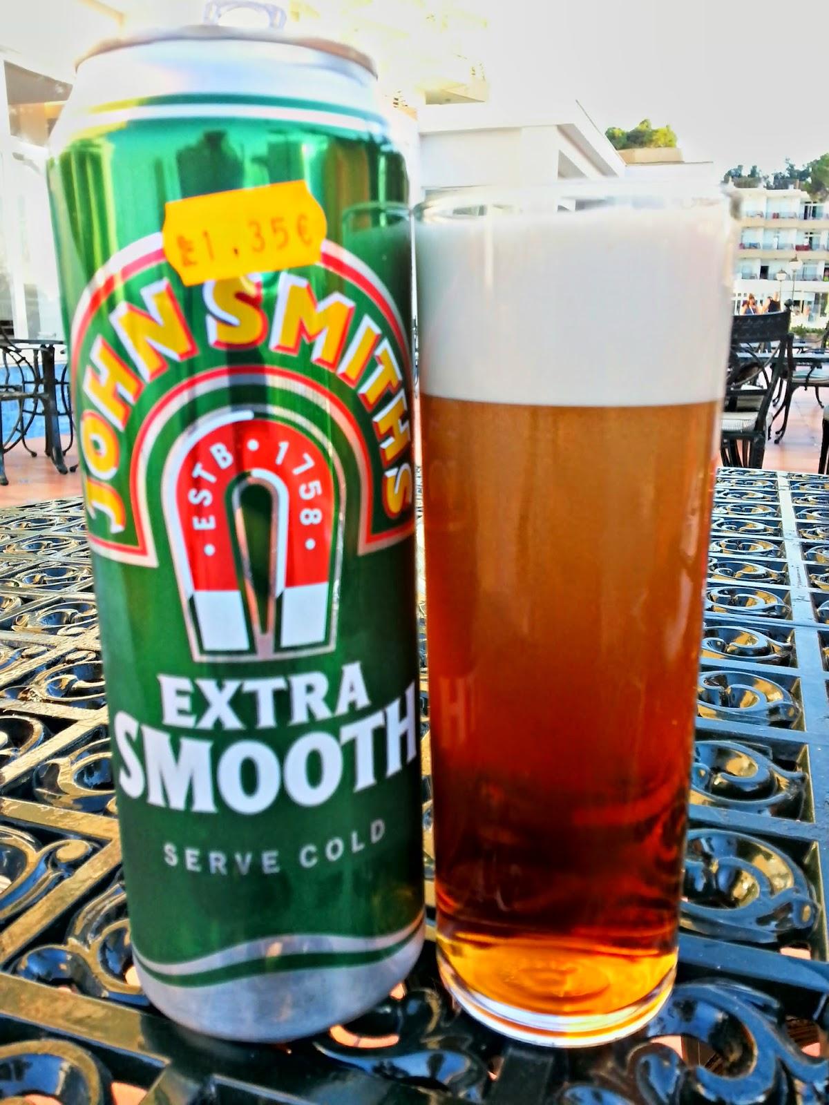 традиционный эль из англии - John Smith's Extra Smooth
