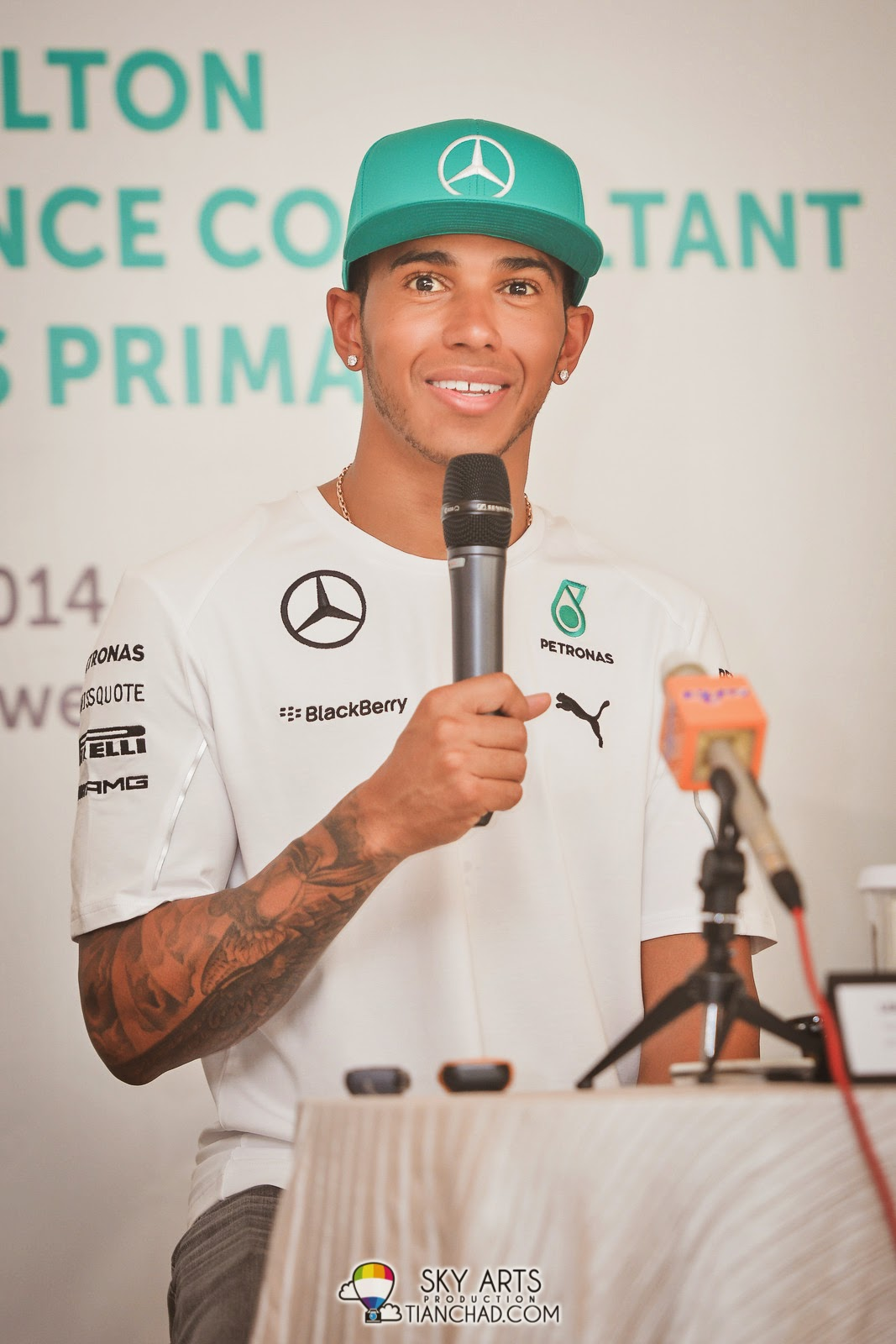 Lewis Hamilton appointed as Technical Performance Consultant (TPC) for PETRONAS PRIMAX in Malaysia