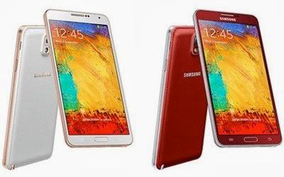 Samsung Galaxy Note 3 rosa e vermelho - 400x250