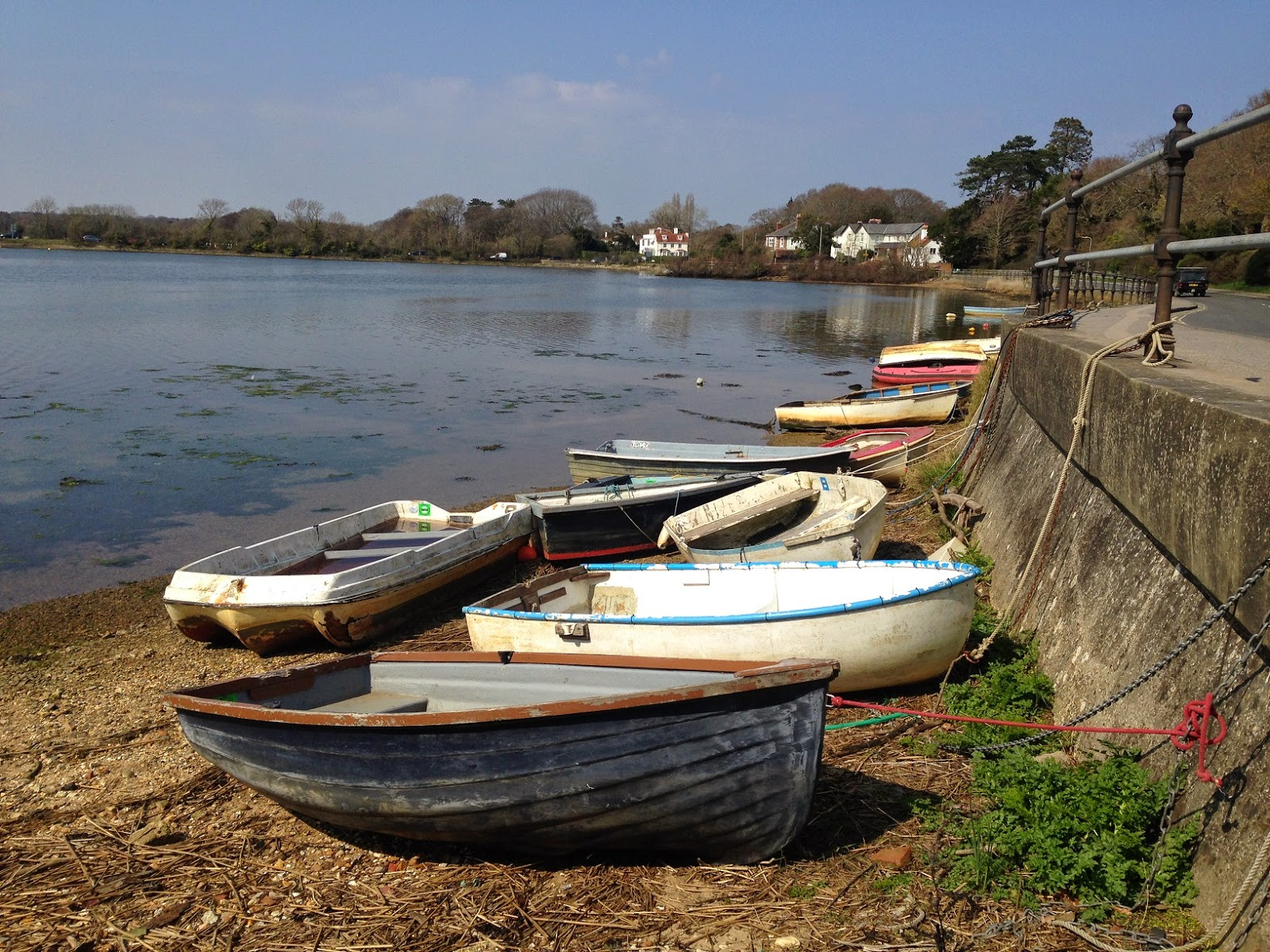 Small boats, Lymington
