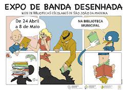 """EXPOSIÇÃO """"NARRATIVAS GRÁFICAS"""" DE BANDA DESENHADA"""