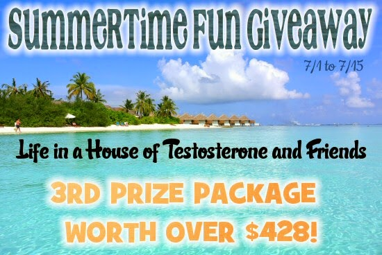 The 3rd Place Prize Package Contains Prizes Worth Over $428.00