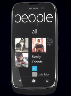 Nokia Lumia 610 Windows Phone 7