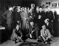 Albert Camus y algunos intelectuales de la época