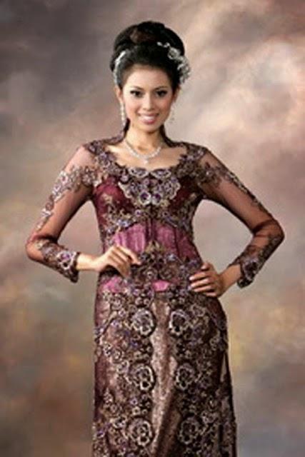 baju pengantin modern kebaya