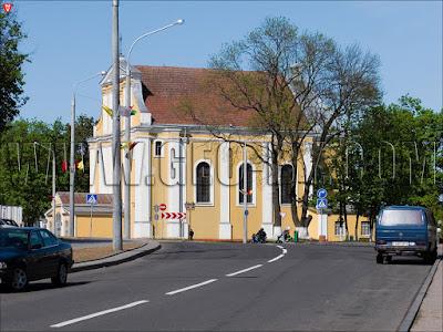 Крестовоздвиженский костел в Лиде