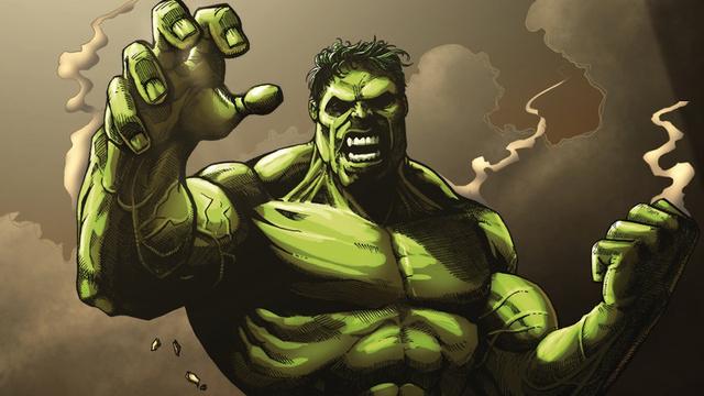 Hulk Scary Pic