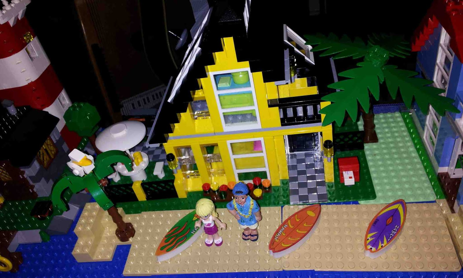 Beach House Lego Lego Lego Friends Stephanie U0027s House 41314