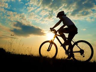 Photo:- Cycling