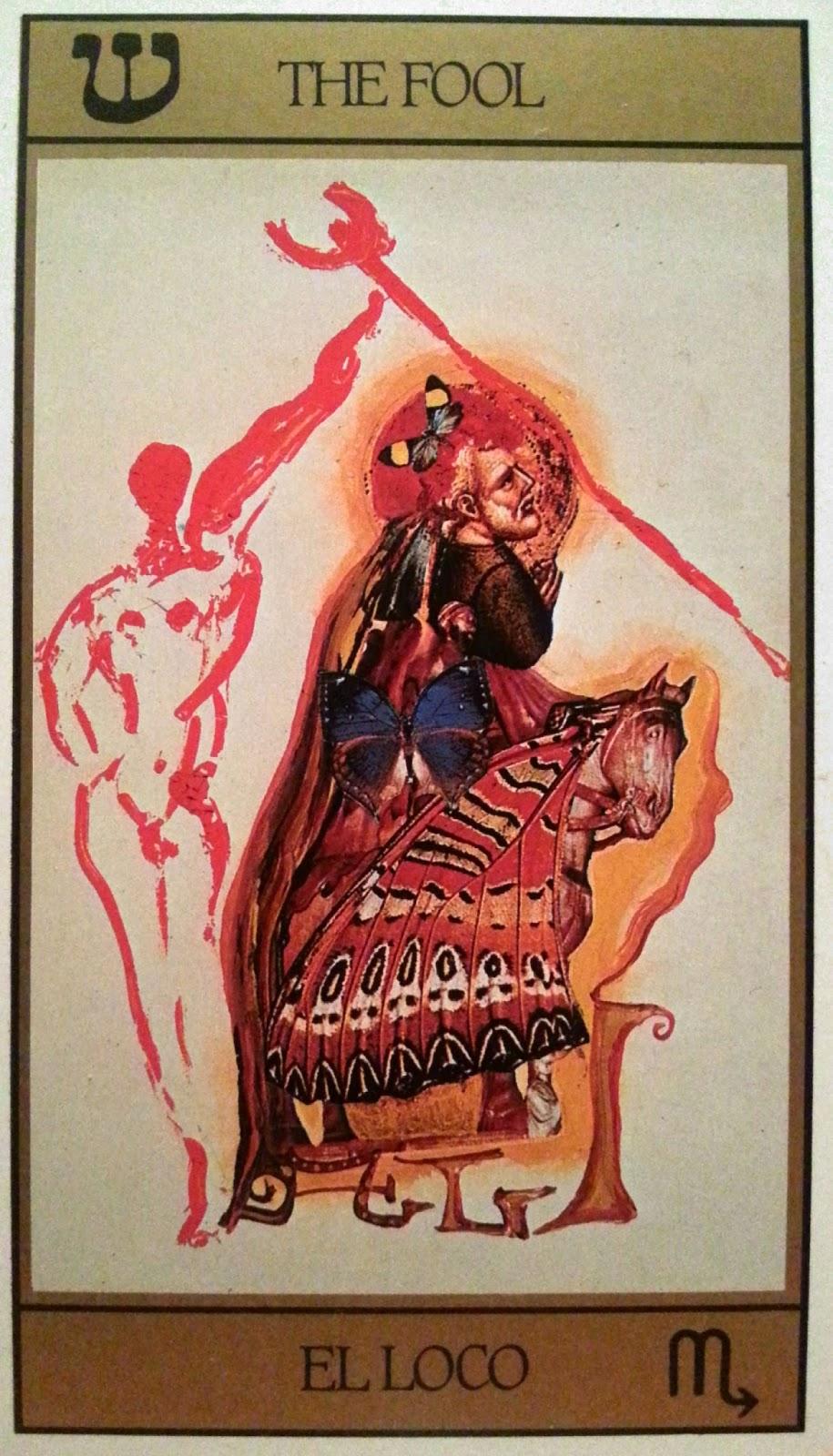 El Loco- Tarot Dalí