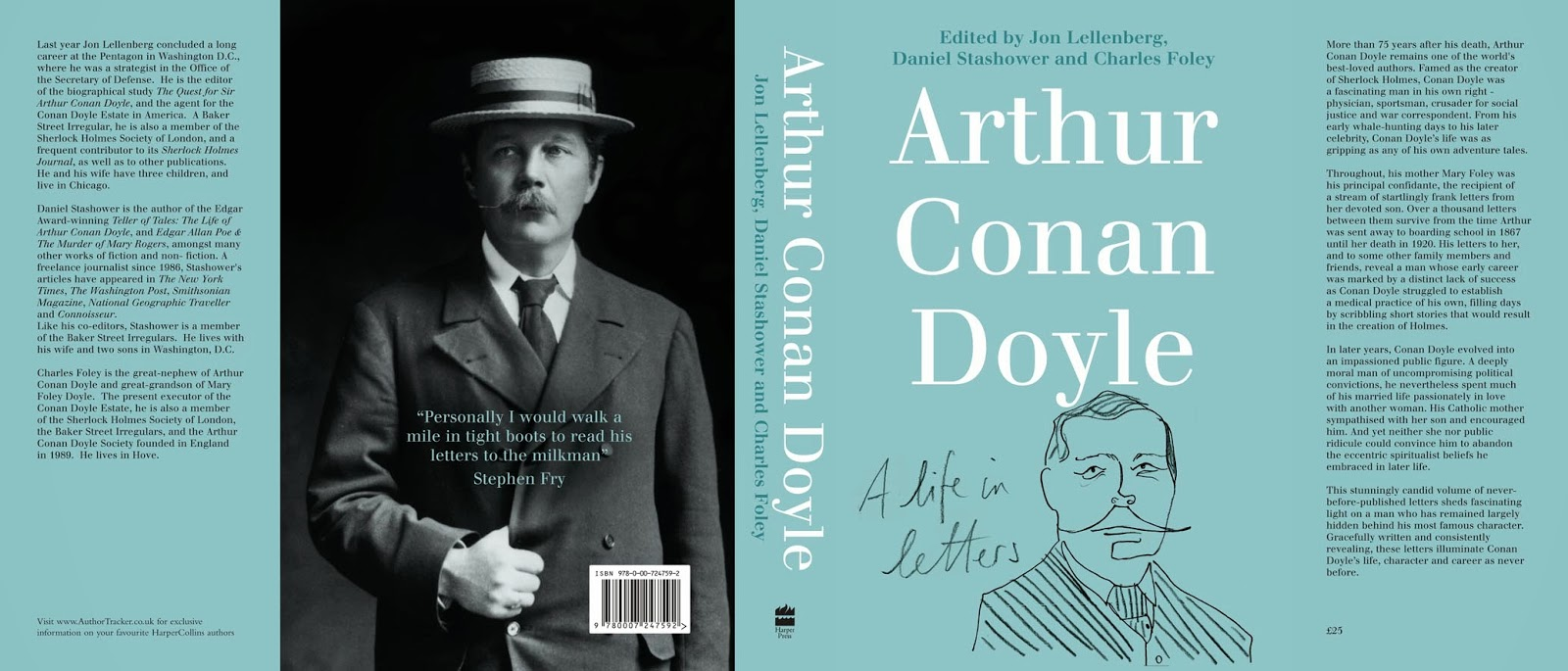 a study of the life of arthur conan doyle A study in scarlet, by arthur conan doyle the science of deduction and analysis is one which can only be acquired by long and patient study, nor is life long.