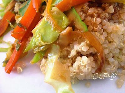 ricett quinoa verza carota zucchine