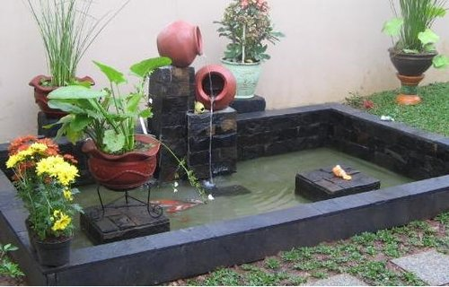 klaten koi farn rancangan kolam sistem filterisasi