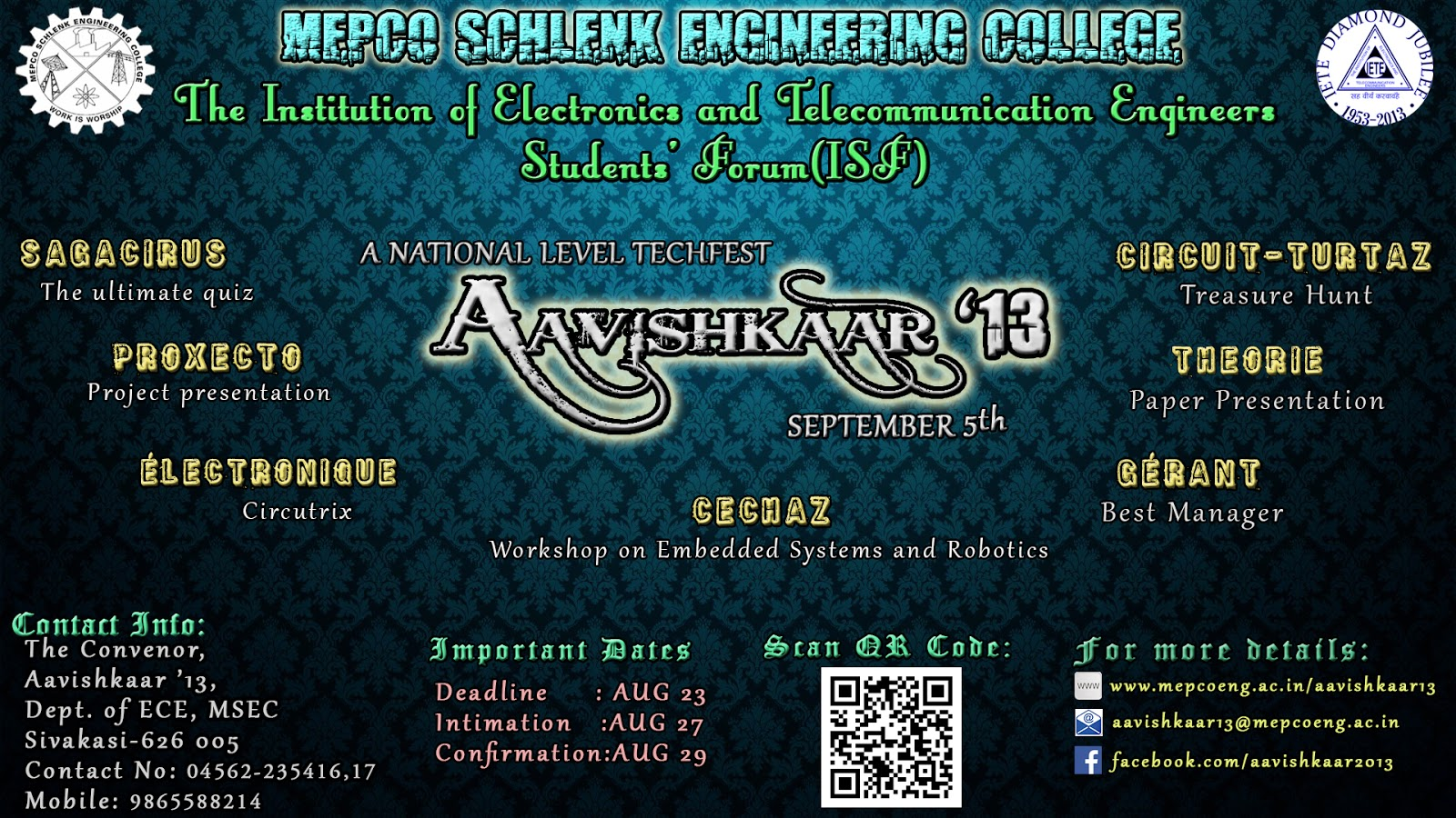 MEPCO ECE Here Comes Our Sympo AAVISHKAAR 13