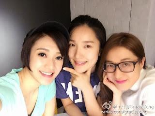 Asian E-News Portal: On Weibo: Eliza Sam and Christine Kuo