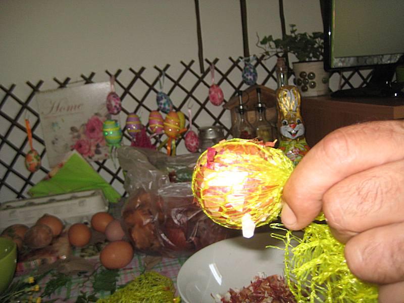 Postupak ukrasavanja uskrsnjih jaja - mermerna