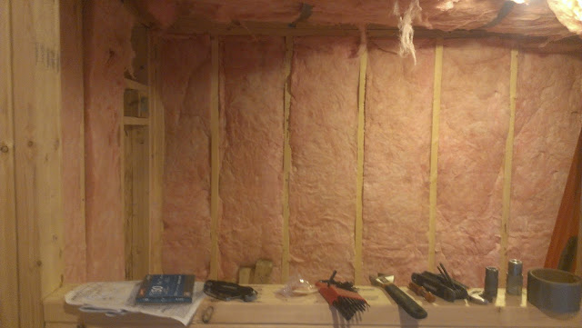 More wall insulation