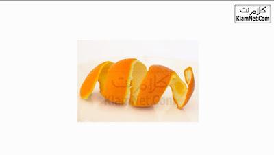 ماسك قشر البرتقال لعلاج الرؤوس السوداء وحب الشباب وتنظيف البشرة  - للبشرة الدهنية والعادية والجافة