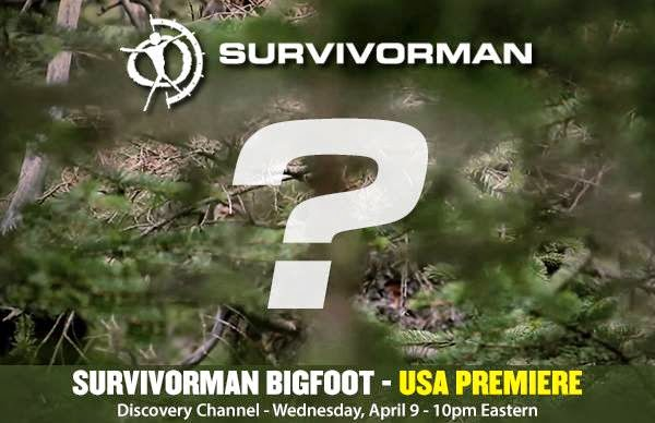 Survivorman Bigfoot Footage