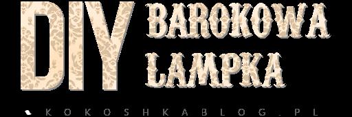 DIY: Barokowa lampka