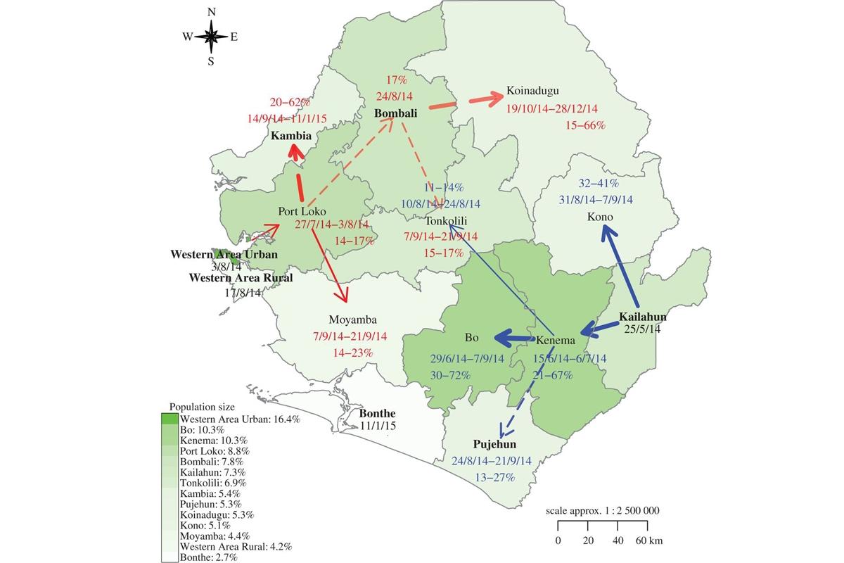 Mapping Ebola