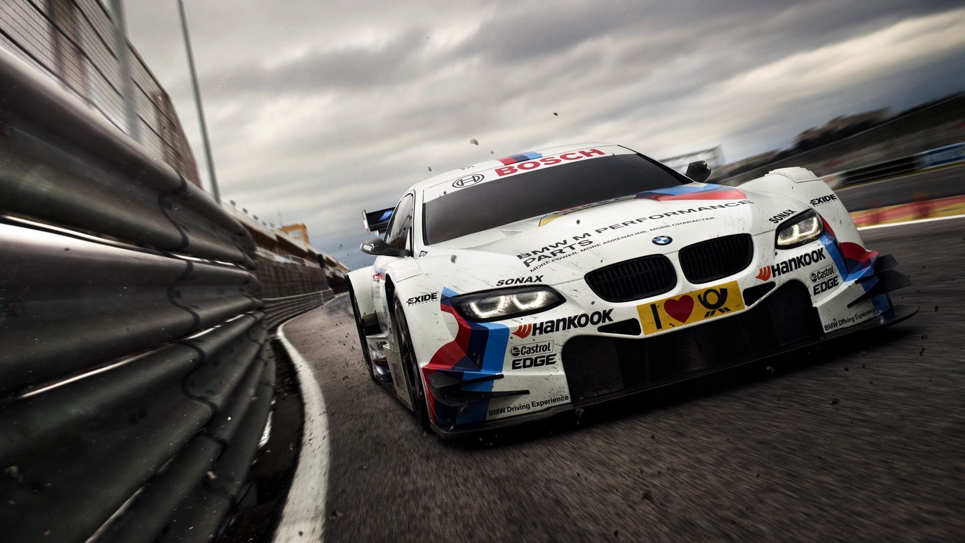BMW Racing Car  High Definition Wallpapers HD