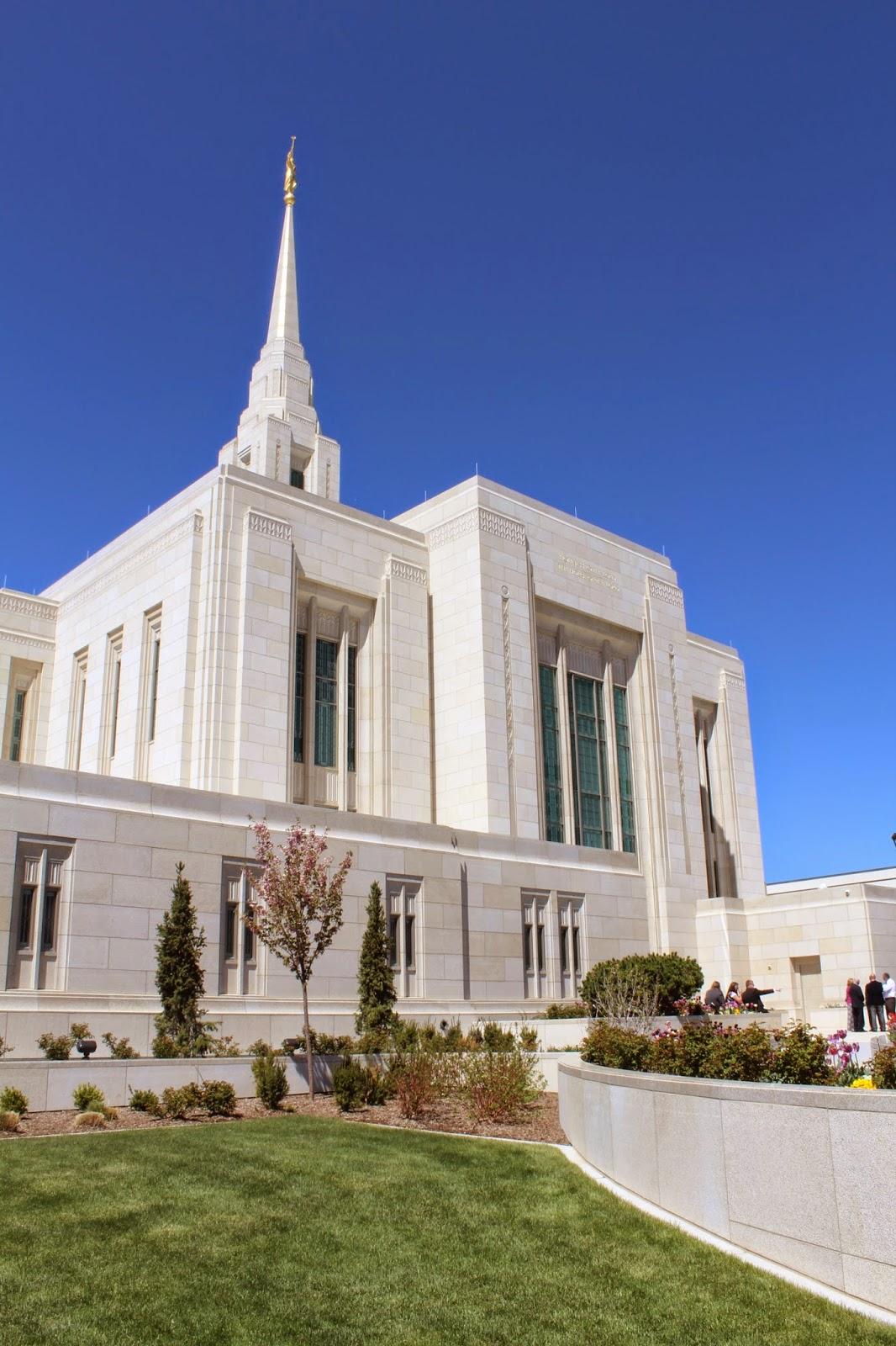 the Ogden Utah LDS temple