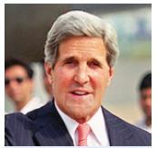 US Secretary John Kerry