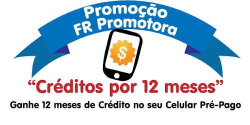 Promoção Créditos por 12 meses