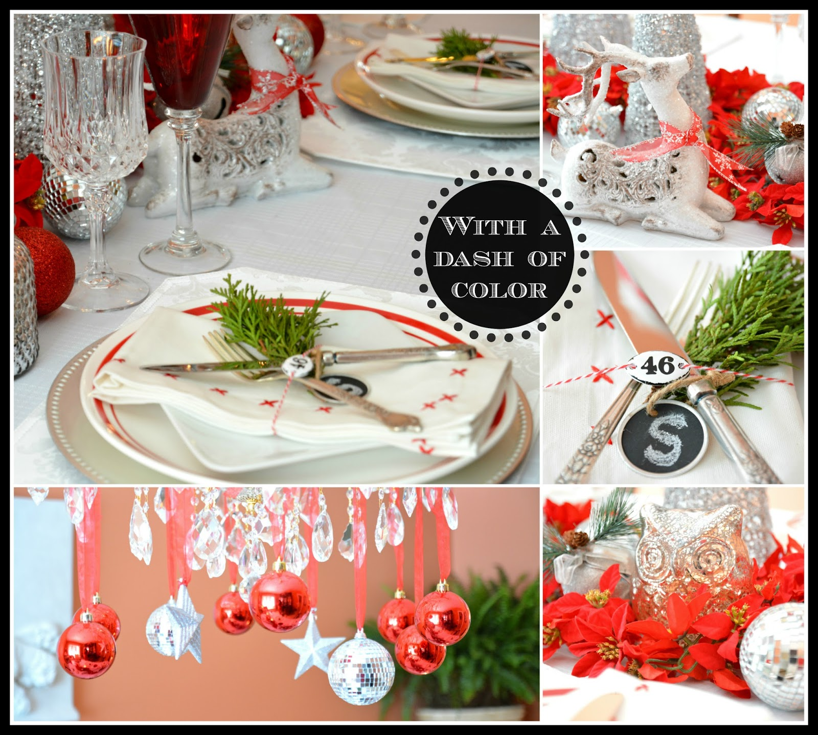 With A Dash Of Color Winter Tablescape Design Inspiration