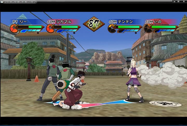 Ultimate ninja impact, naruto