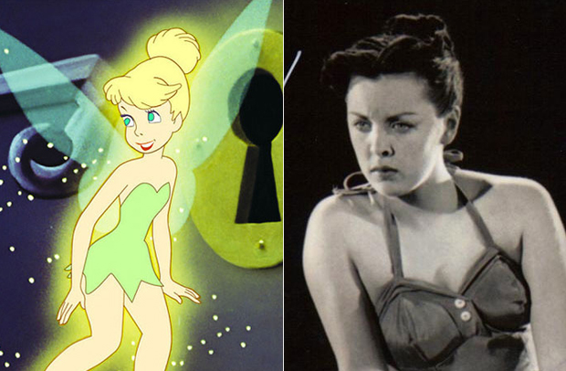 Os personagens da Disney na vida real - Sininho – Margaret Kerry