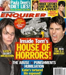 Cruise, Katie Holmes, Suri, National Enquirer, Tom Cruise, Bert Fields, Hollywood Reporter, Scientology, Raynan's World