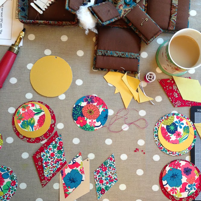 Styling the seasons with Liberty fabric - by Alexis at www.somethingimade.co.uk