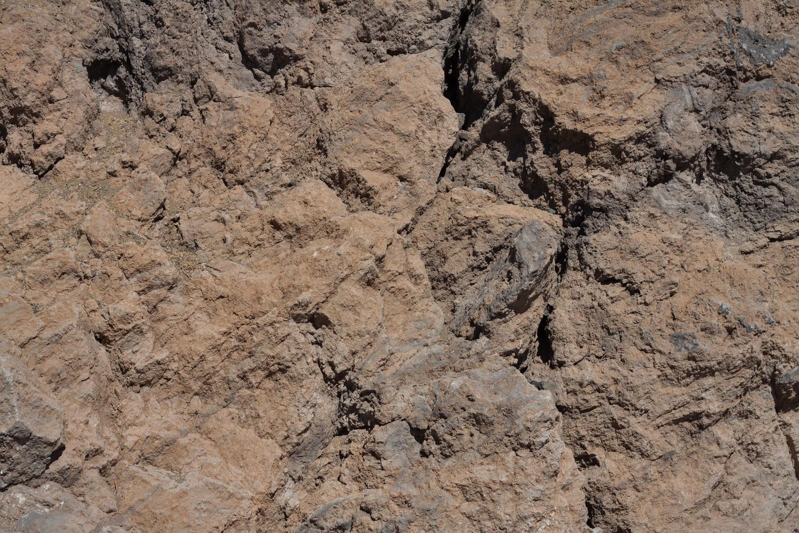 Mountain rock face texture